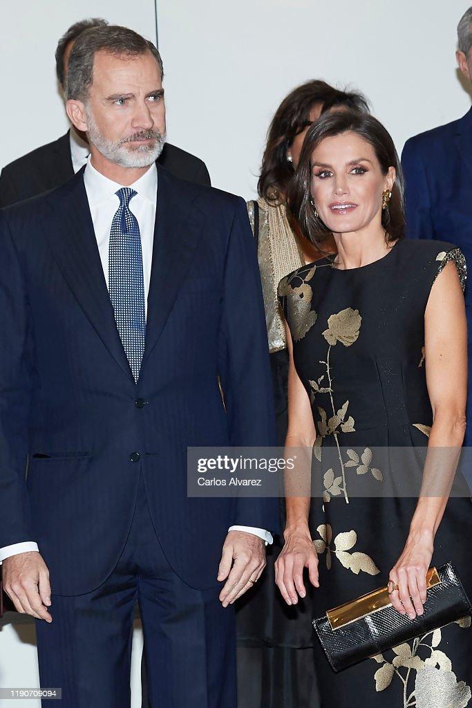 Spanish Royals Attend 'Francisco Cerecedo' Awards 2019 : News Photo