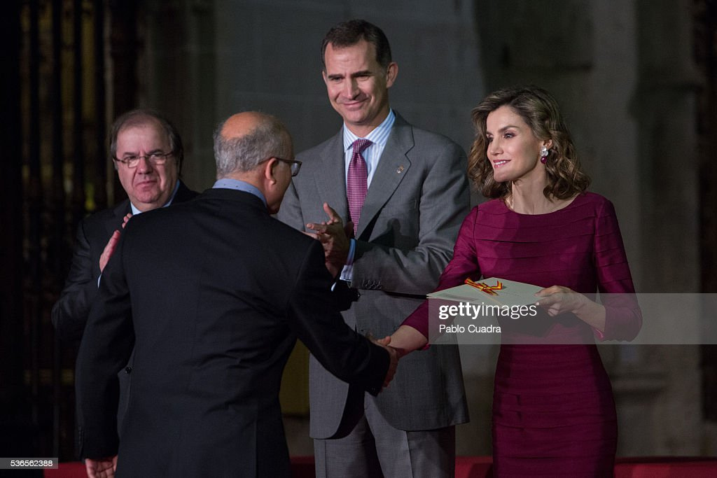 Spanish Royals Attend 'National Culture Awards' in Palencia : News Photo
