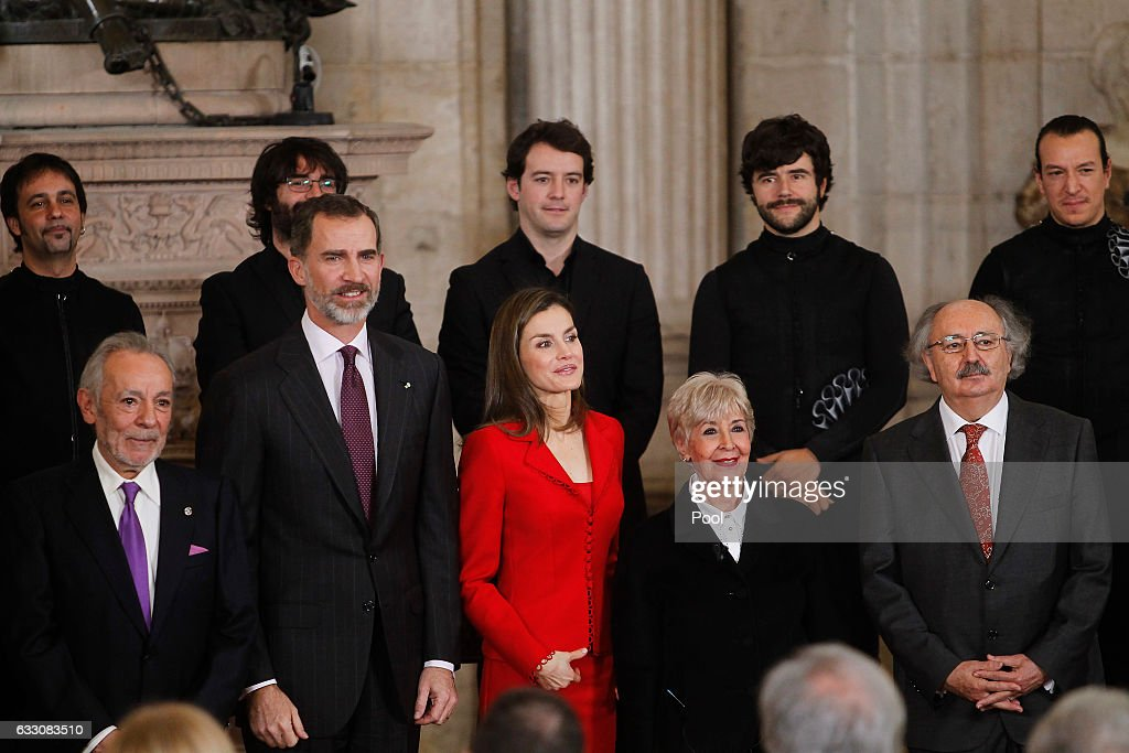 Spanish Royals Attend the 'Commemoration Of Cervantes Death' Closing Event : News Photo