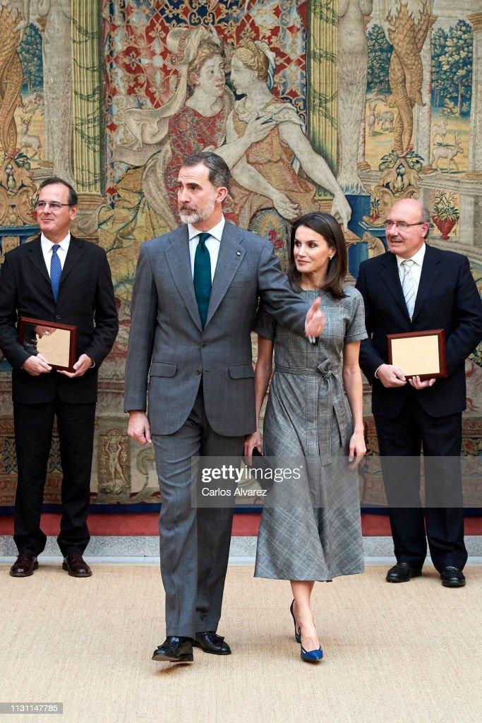 ESP: Spanish Royals Deliver 'Premios Nacionales De Investigacion' 2018