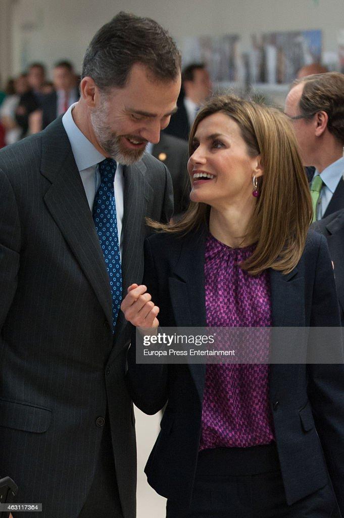 Spanish Royals Attend National Paraplejic Hospital 40th Anniversary : News Photo
