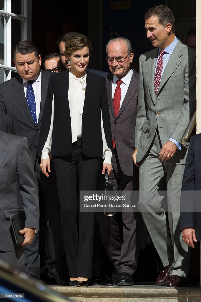 Spanish Royals Attend the Innovation and Design Awards 2015 : News Photo