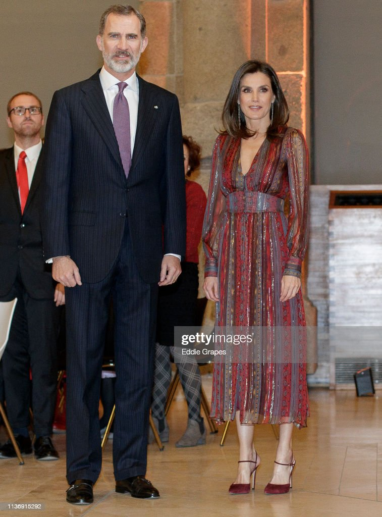 Spanish Royals Attend National Culture Awards : News Photo