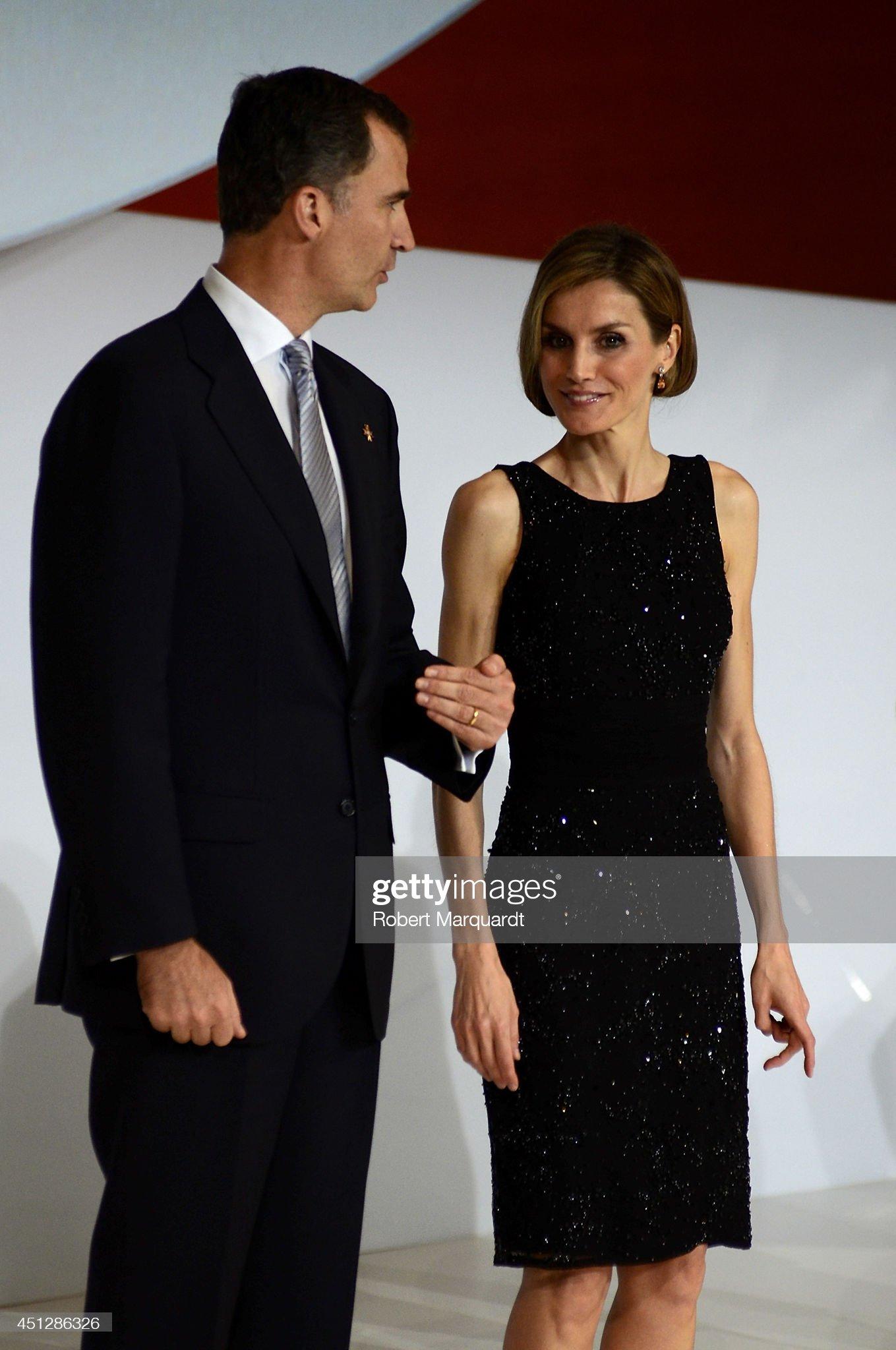 Spanish Royals Attend 'Principe de Girona' Foundation Awards : News Photo