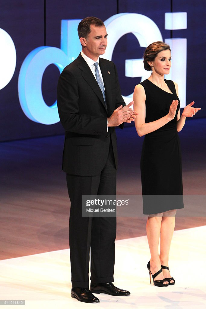 Spanish Royals Attend 'Princesa de Girona' Foundation Awards : News Photo