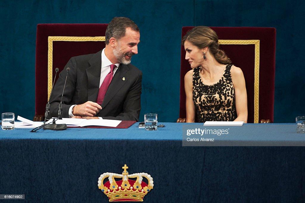 Princesa de Asturias Awards 2016 - Day 2 : News Photo