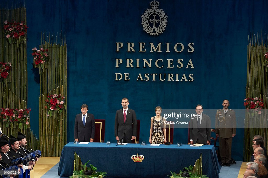 Princesa de Asturias Awards 2016 - Day 2 : Foto di attualità
