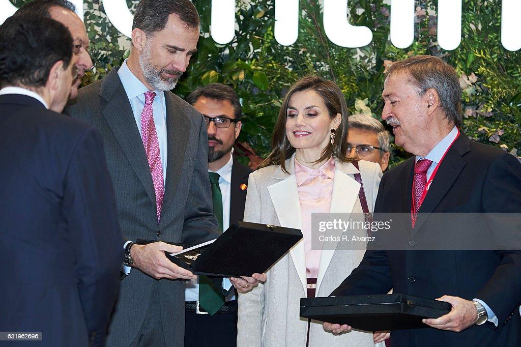Spanish Royals Attend FITUR 2017 : News Photo