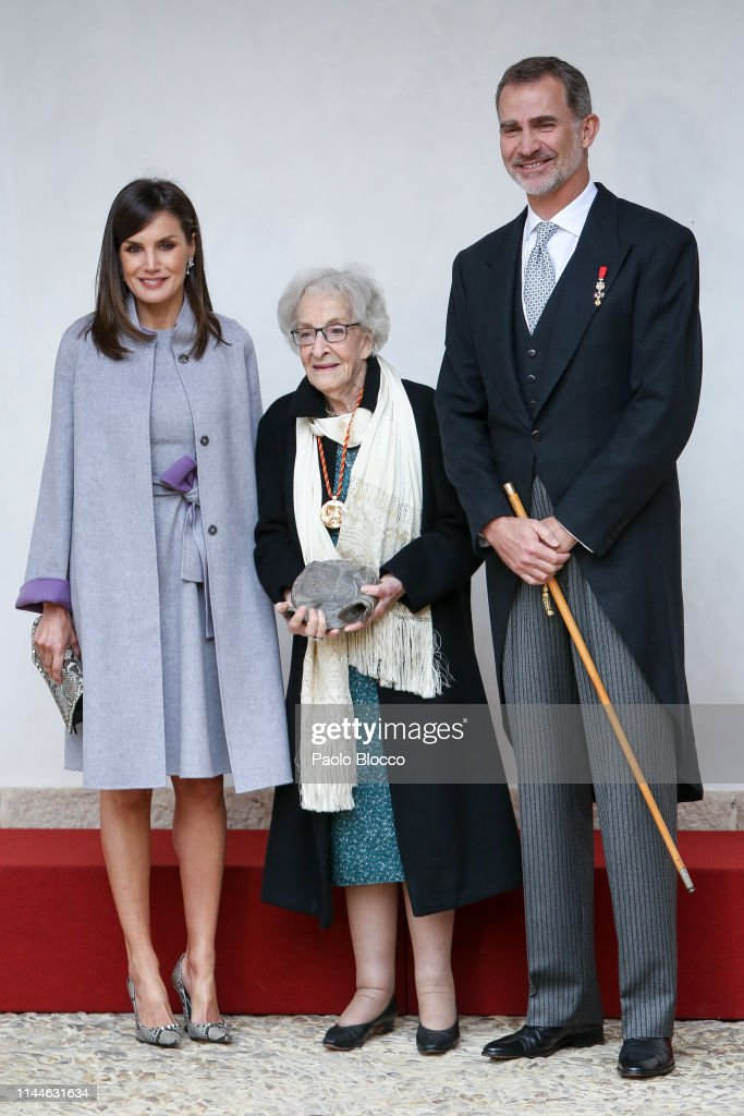 Spanish Royals Attend 'Miguel de Cervantes' Literature Awards : News Photo