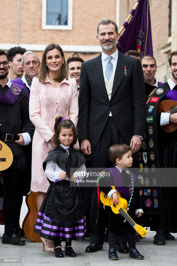 Spanish Royals Attend 'Miguel de Cervantes' Literature Awards