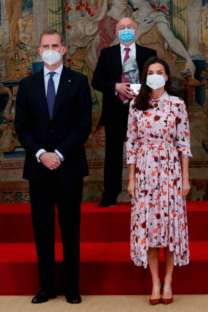 ESP: Spanish Royals Attend Delivery Of National Research Awards 2020
