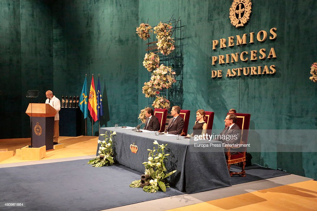 Princesa de Asturias Awards 2015 - Day 2 : News Photo