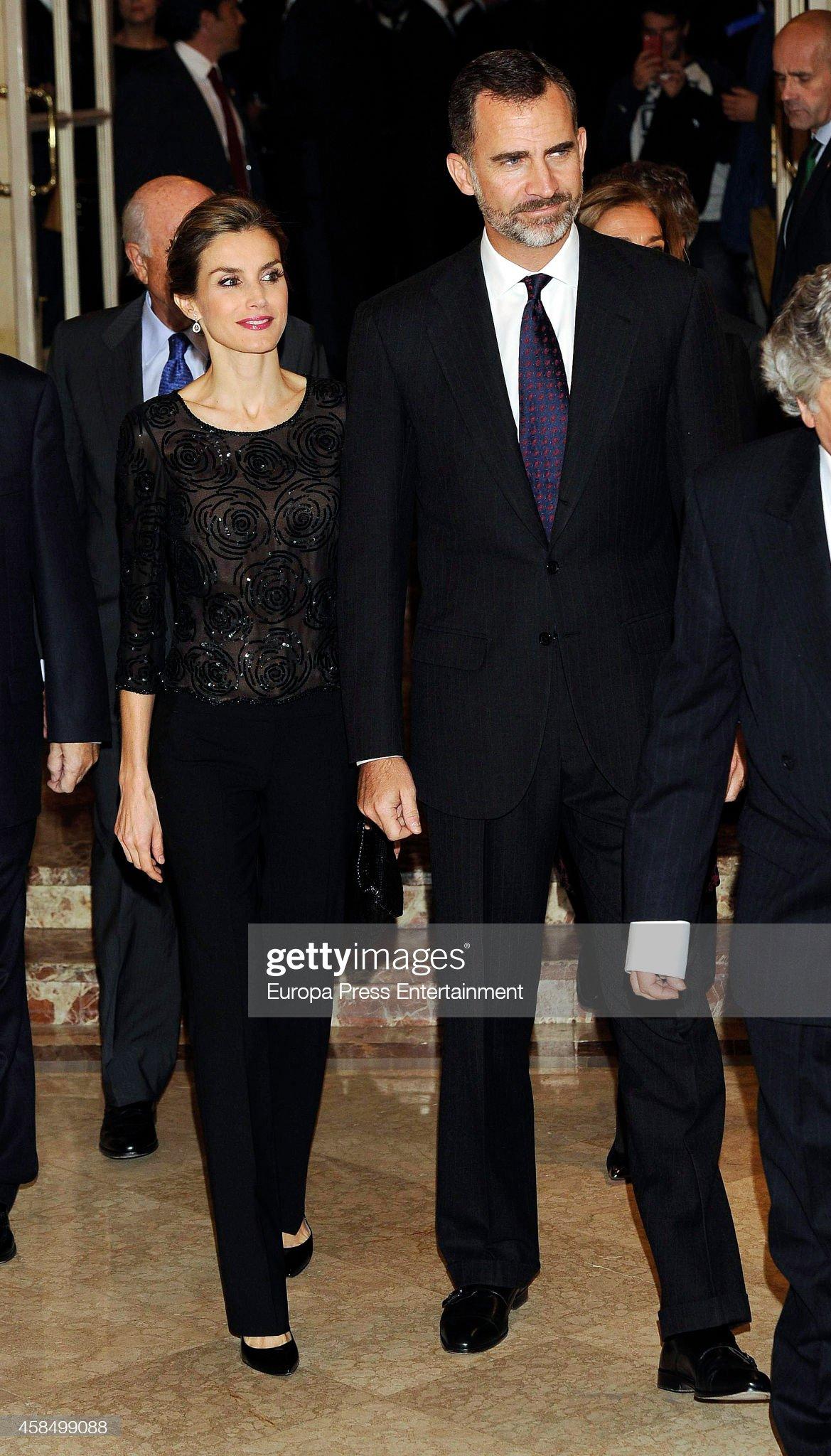 Spanish Royals Attend 'Francisco Cerecedo' Journalism Awards : News Photo