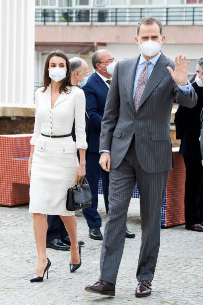 ESP: Spanish Royals Attend The Opening Of The 'Helga de Alvear' Museum In Caceres