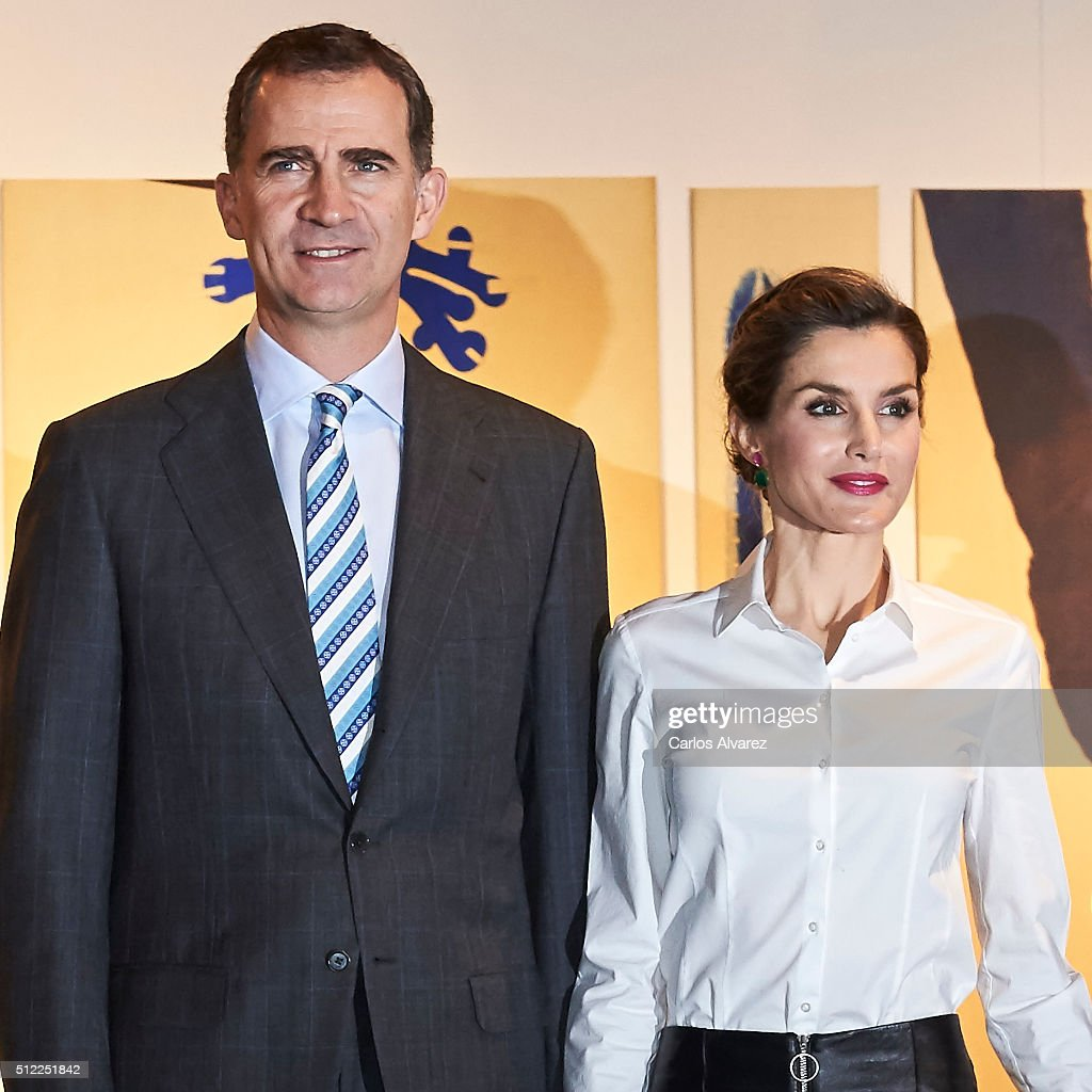 Spanish Royals Attend the Opening of ARCO 2016 : News Photo