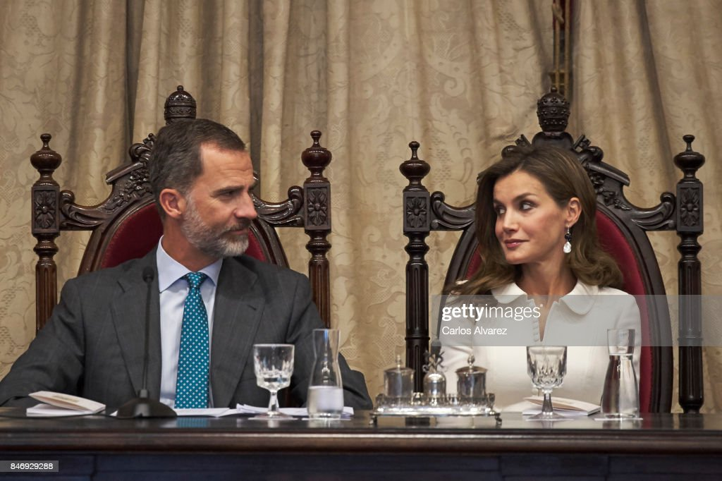 Spanish Royals Open The University Course In Salamanca : News Photo