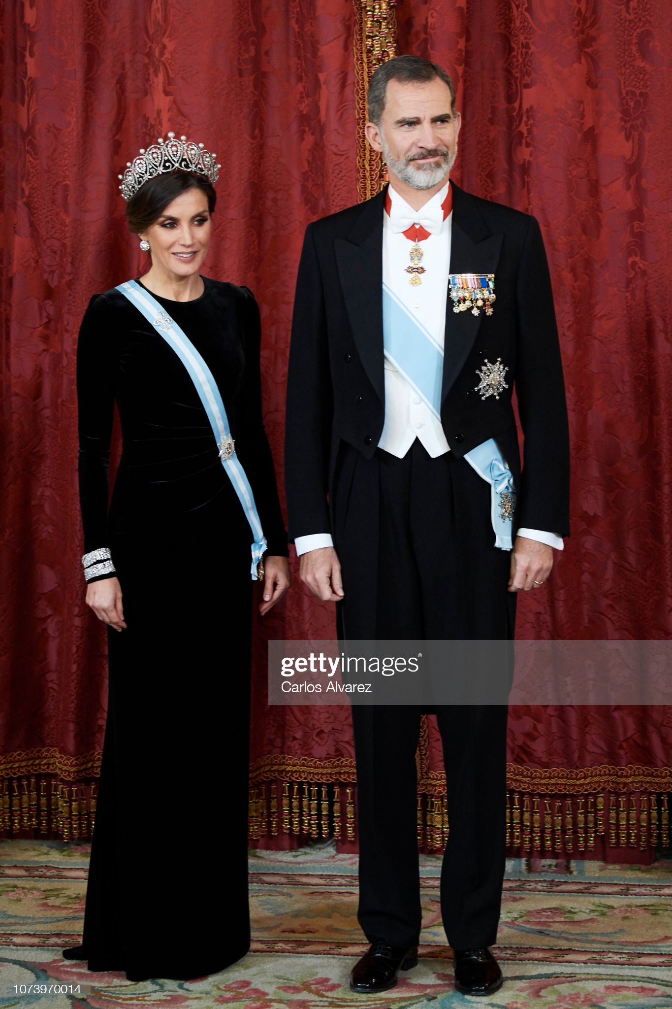 Spanish Royals Host A Dinner Gala For Chinese President Xi Jinping : News Photo