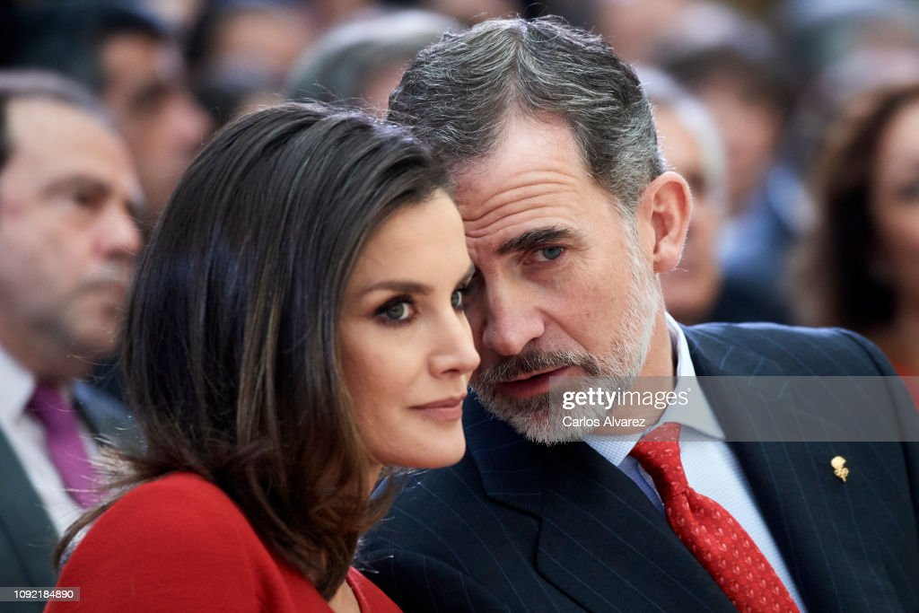 Spanish Royals Attend 'Premios Nacionales Del Deporte 2017' : News Photo