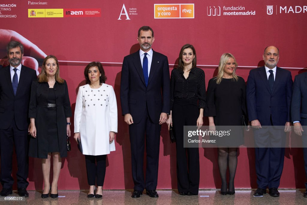 Spanish Royals Attend 'In Memoriam' Concert : News Photo