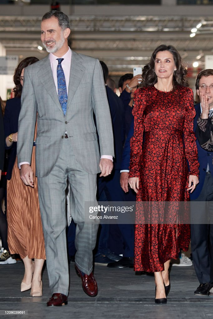 Spanish Royals Inaugurate ARCO Fair 2020 : News Photo