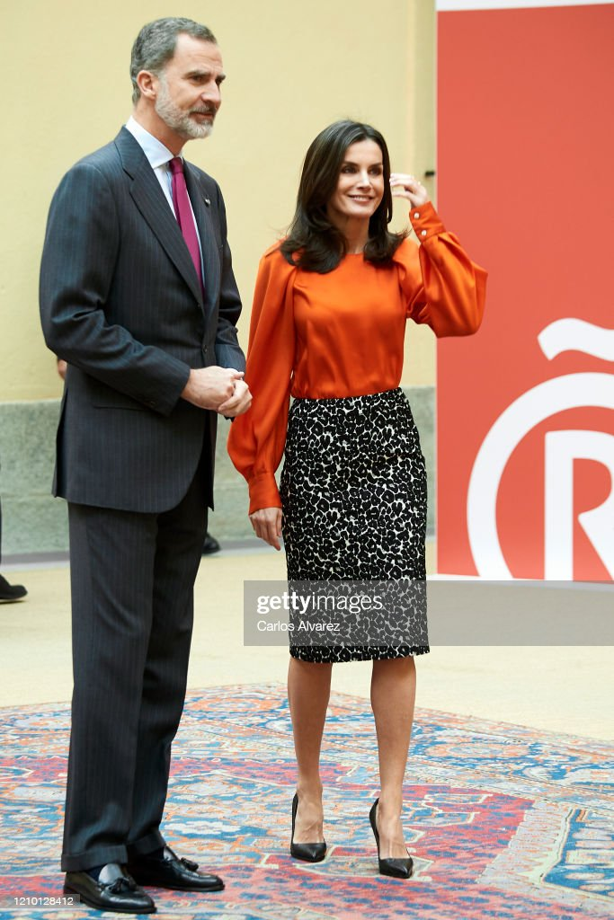 Spanish Royals Deliver Accreditations On The 8th Promotion Of Honorary Ambassadors For 'Spain' Brand : Foto di attualità