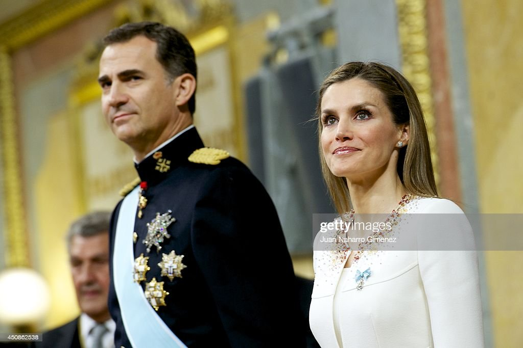 The Coronation Of King Felipe VI And Queen Letizia Of Spain : News Photo