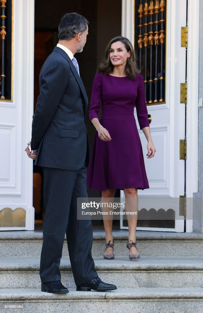 Spanish Royals Host Official Lunch With Israel President : News Photo