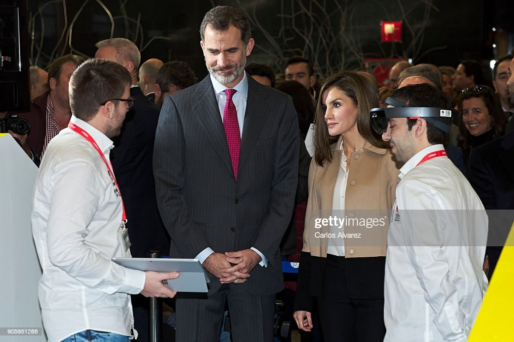 Spanish Royals Inugurate FITUR International Tourism Fair 2018