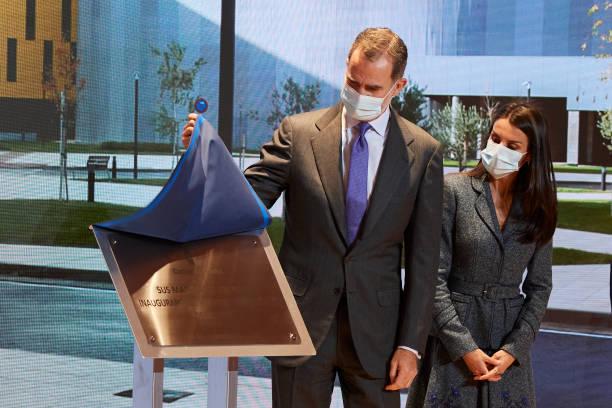 ESP: Spanish Royals Inaugurate The University Hospital Of Toledo