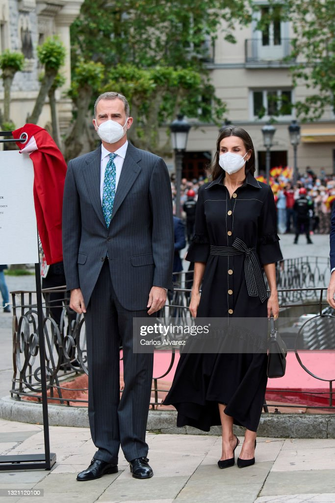 Spanish Royals Inaugurate The Memorial Center For The Victims Of Terrorism In Vitoria : News Photo