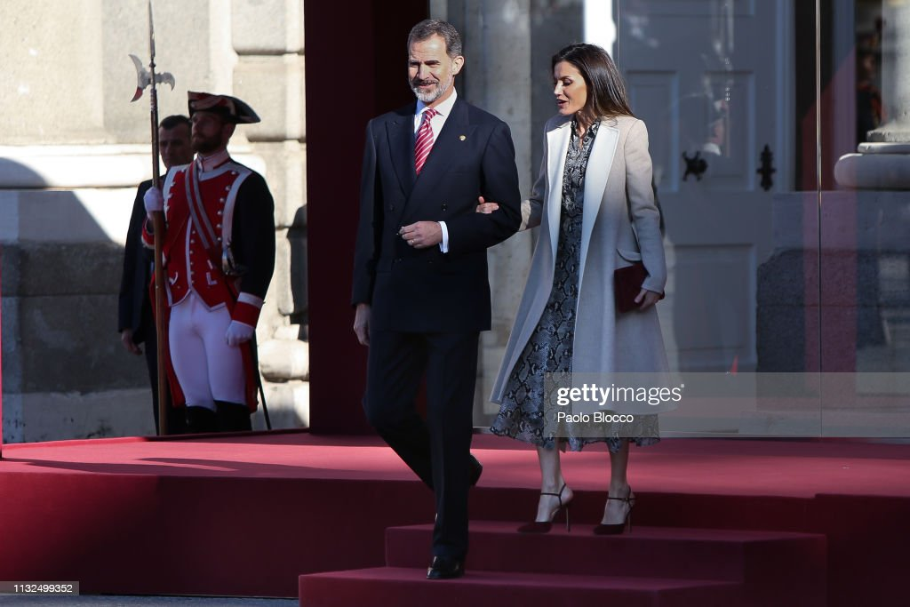King Felipe VI of Spain, Queen Letizia of Spain and Vicepresident News Photo - Getty Images