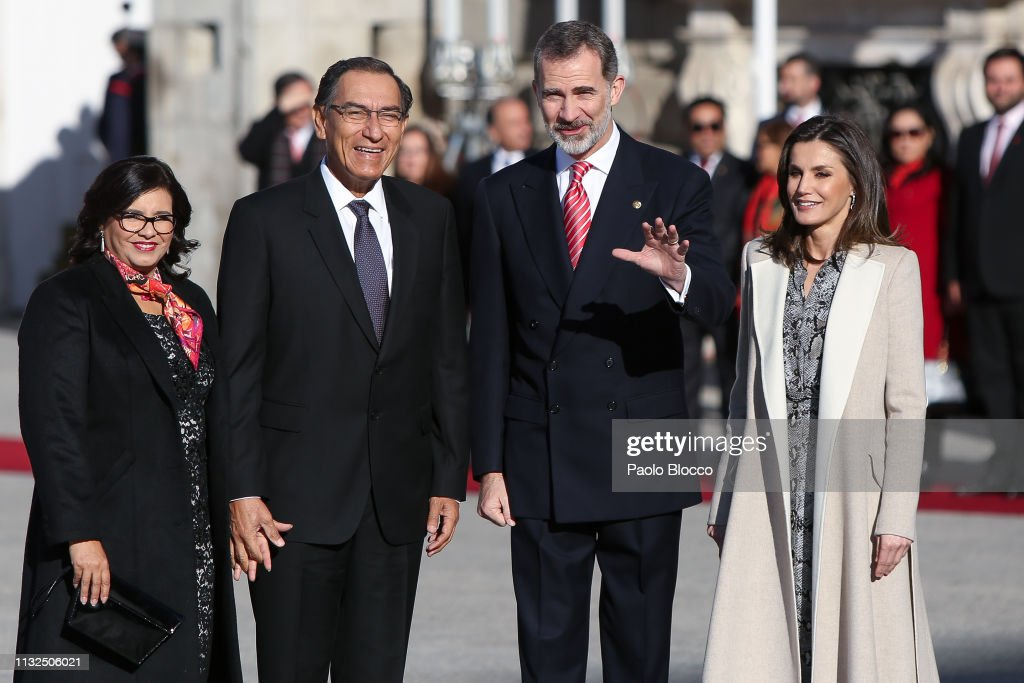 Her Majesty The Queen Letizia of Spain and His Majesty The King News Photo - Getty Images