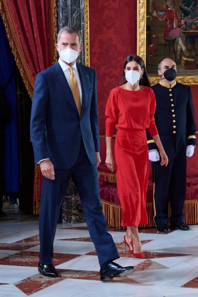 ESP: Spanish Royals Host A Lunch For Colombian President, Ivan Duque Marquez