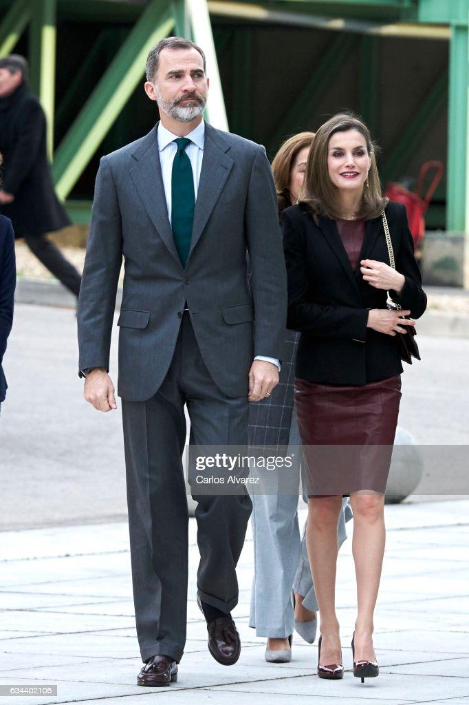 Spanish Royals Visit CNIC : News Photo