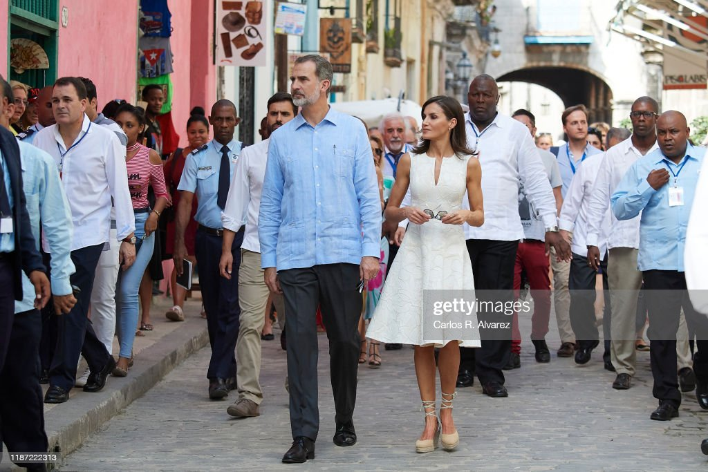Day 1 - Spanish Royals Visit Cuba : News Photo