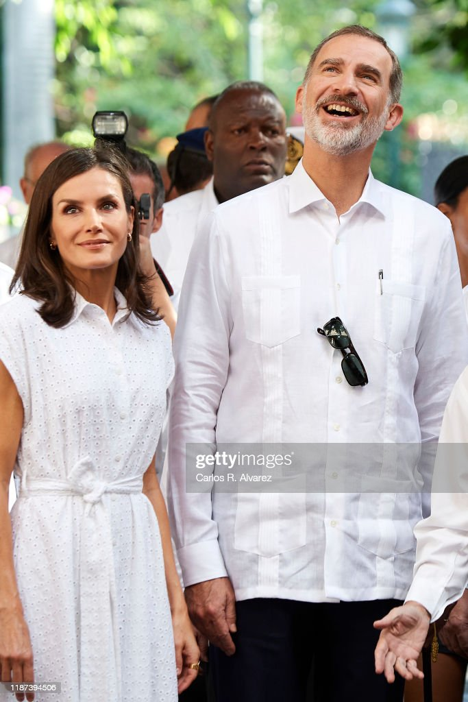 Day 2 - Spanish Royals Visit Cuba : News Photo