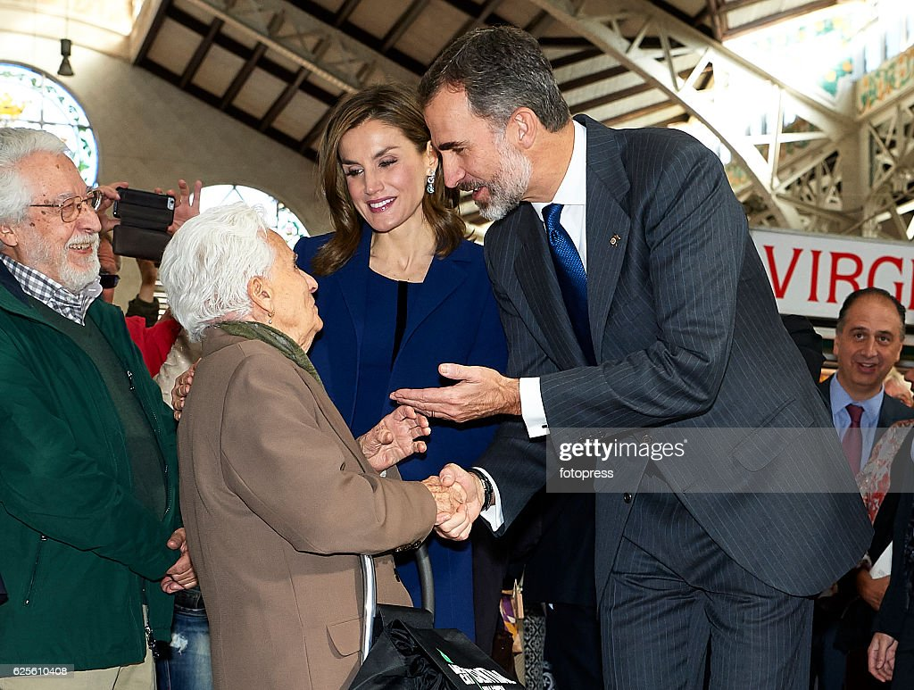 Spanish Royals Attend 'Jaime I' Awards in Valencia : News Photo