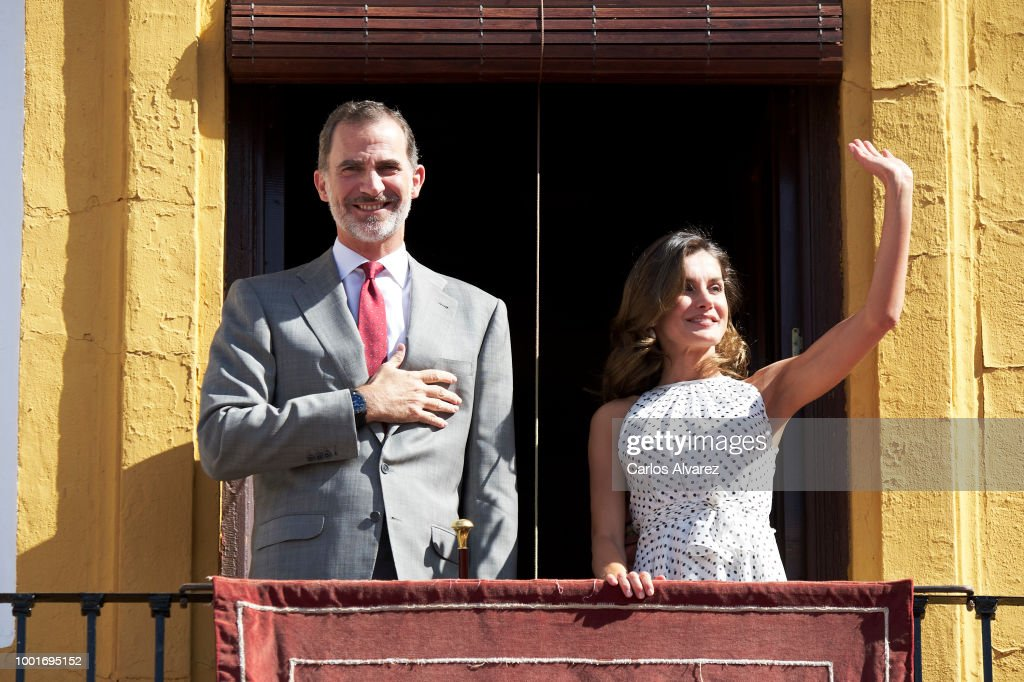 Spanish Royals Attend 210th Anniversary Of Bailen Battle
