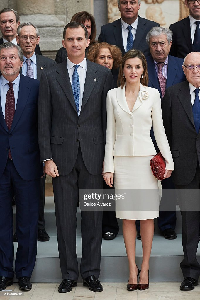 Spanish Royals Visit The Prado Museum : News Photo