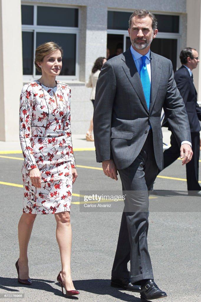 Spanish Royals Visit Gran Canaria : News Photo