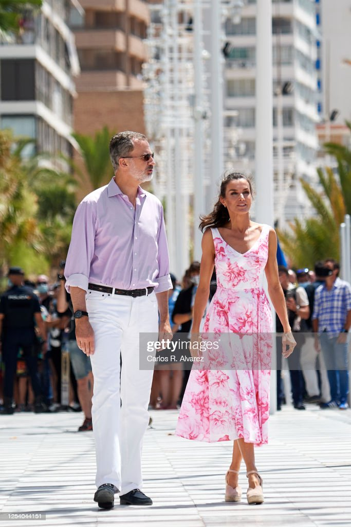 Spanish Royal Tour - Benidorm : Foto di attualità
