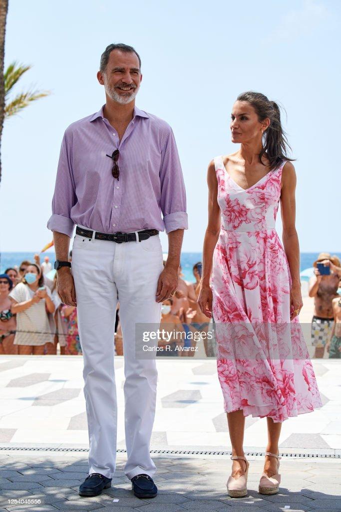 Spanish Royal Tour - Benidorm : Foto di attualità