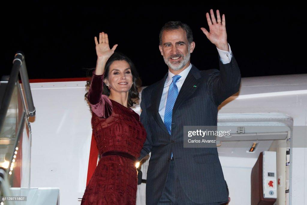 Day 2 - Spanish Royals Visit Morocco : News Photo
