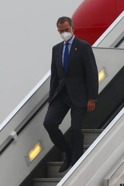 PER: International Dignitaries Arrive in Peru Ahead of Castillo's Inauguration