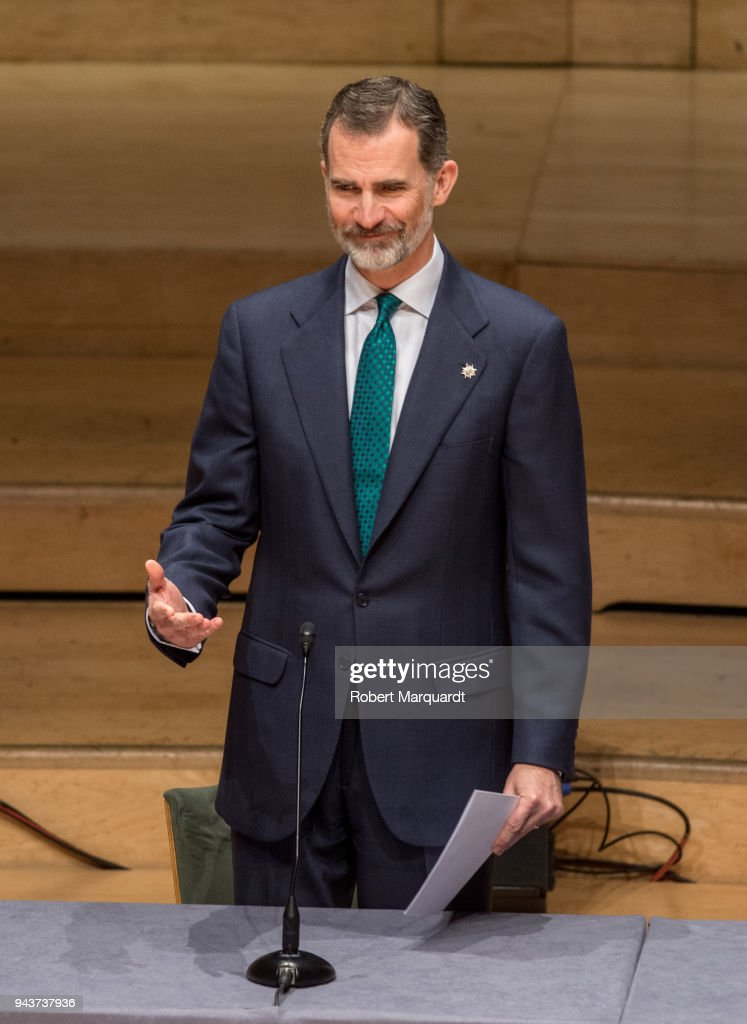 King Felipe Of Spain Delivers Offices To The New Promotion Of Judicial Career