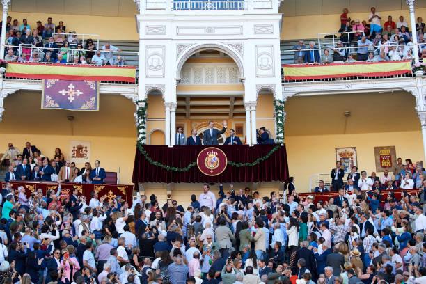 ESP: King Felipe Of Spain Attends 'Corrida de la Beneficencia' Bullfights