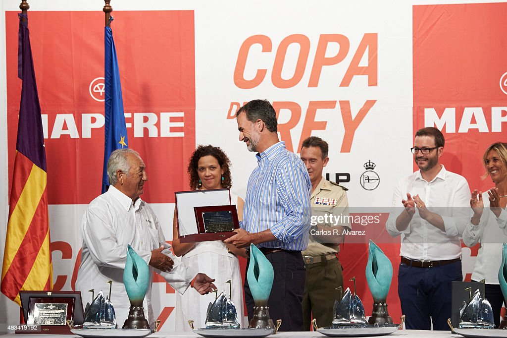 34th Copa del Rey Mapfre Sailing Cup - Awards Ceremony : News Photo