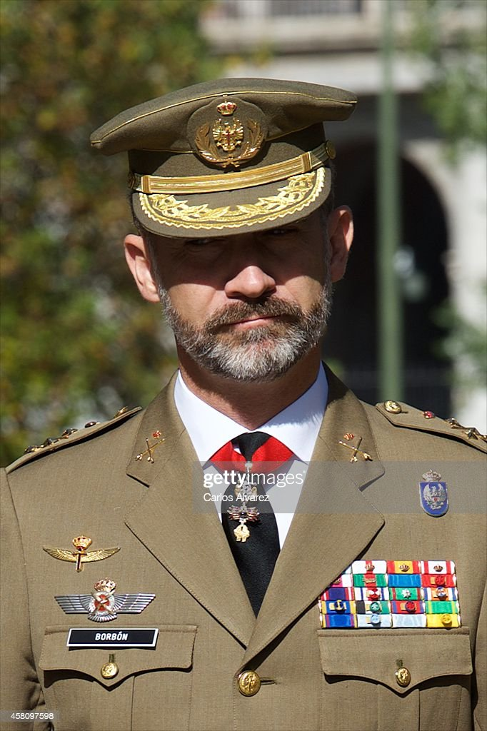 King felipe VI of Spain Attends the 50th Anniversary of CESEDEN