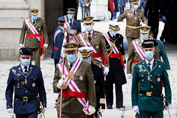 ESP: King Felipe Of Spain Attends The Celebration Of The Chapter Of The Royal And Military Order Of San Hermenegildo