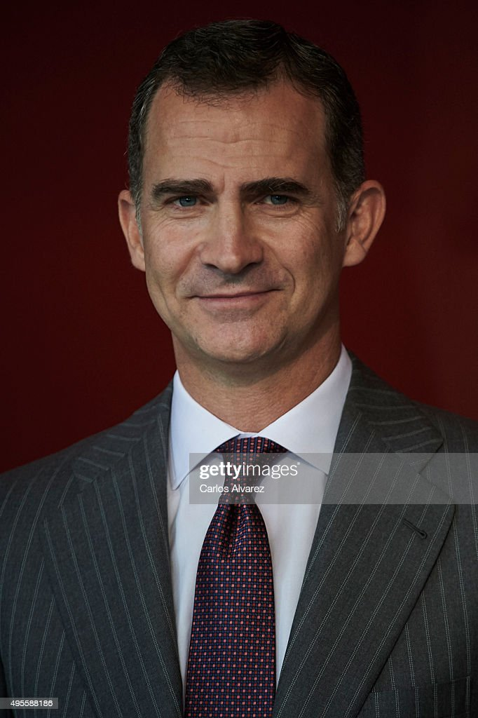 King Felipe Of Spain Attends CEPYME Awards 2015